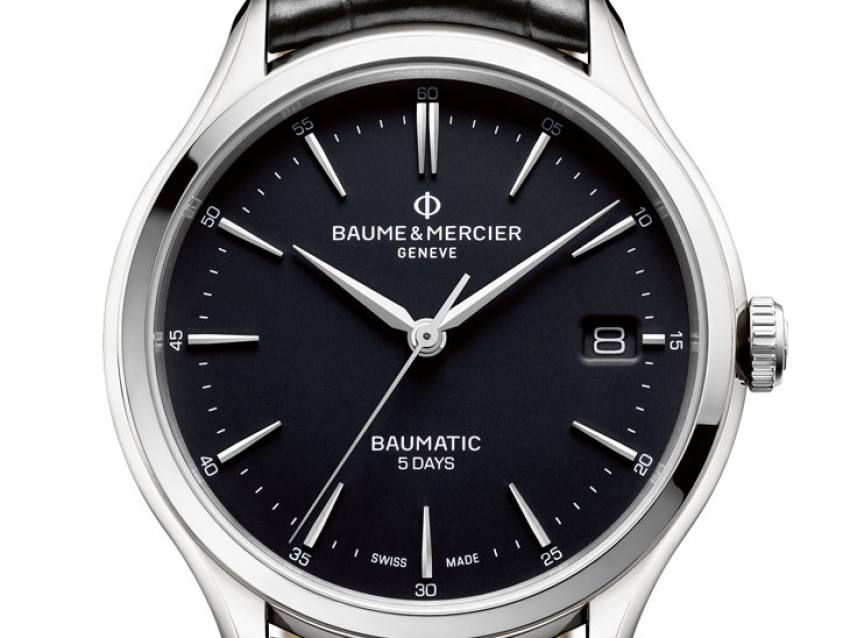 SIHH 2018: Baume & Mercier Clifton Baumatic