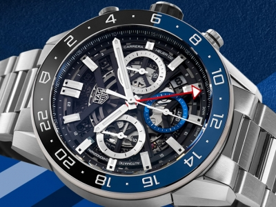 TAG Heuer Carrera Heuer 02 GMT Chronograph