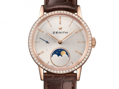 Zenith seduce con el Elite Lady Moonphase