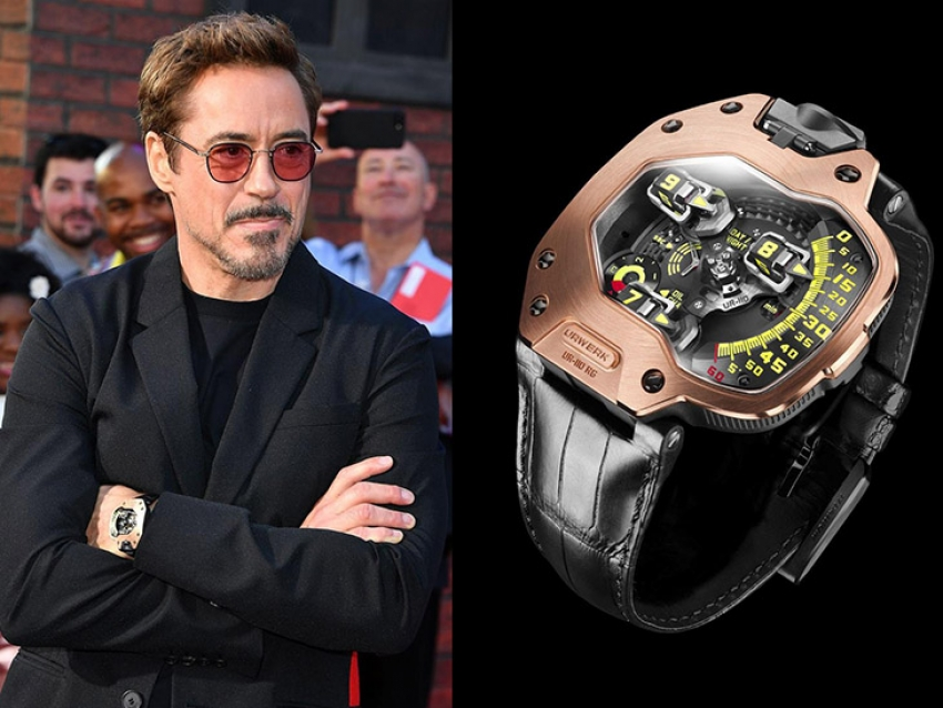 Robert Downey Jr. y su alucinante Urwerk UR-110 RG en Spider-Man: Homecoming