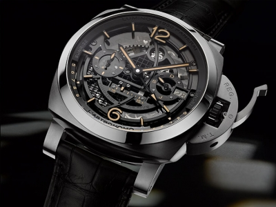 SIHH 2018: Panerai sorprende con el L´Astronomo Luminor 1950 Tourbillon Moon Phases Equation of Time GMT
