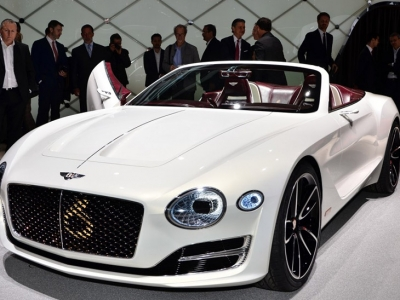 El fenomenal Bentley EXP 12 Speed 6e