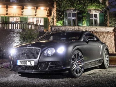 La distinción británica del Bentley Continental GT Speed