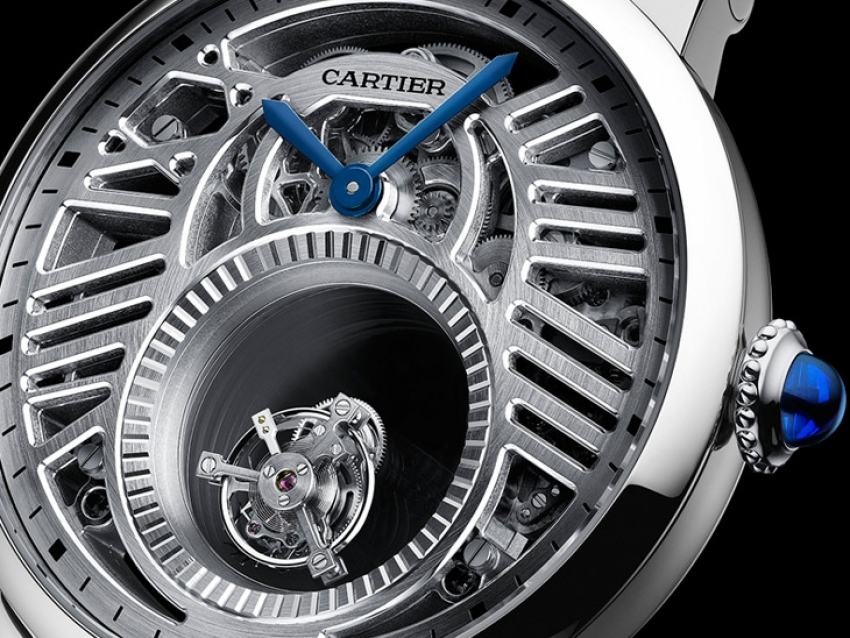 Pre SIHH 2018: Rotonde De Cartier Skeleton Mysterious Double Tourbillon