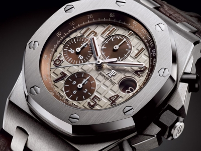 Close up al Audemars Piguet Royal Oak Offshore Safari