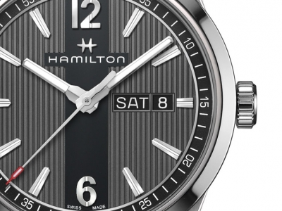Close Up al Hamilton Broadway Auto Chrono