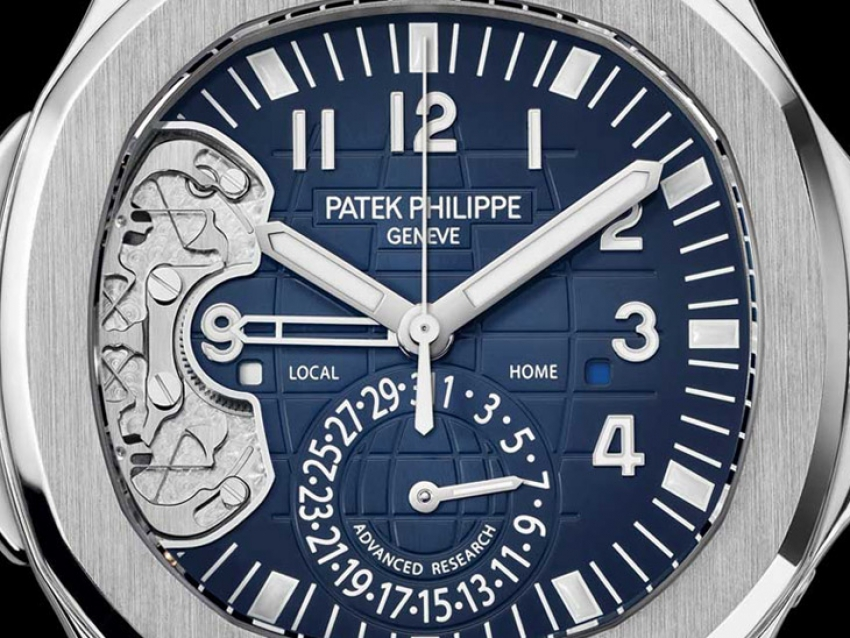 Patek Philippe Aquanaut Travel Time referencia 5650 Advanced Research