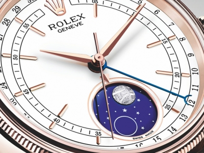 El Rolex Cellini Moonphase es pura distinción