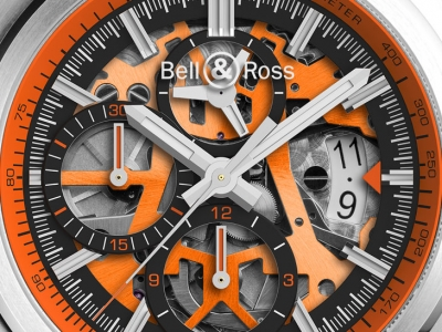 Bell & Ross asombra con el BR 03-94 AeroGT Orange