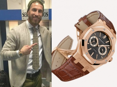 El Audemars Piguet Royal Oak Day & Date de Sergio Ramos
