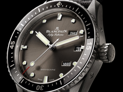 Blancpain Fifty Fathoms Bathyscaphe Calendario Anual