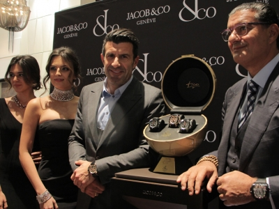 Baselworld 2018: Jacob & Co. Epic X Chrono Luis Figo