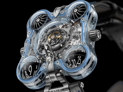 MB&F vuela alto con el Horological Machine N°6 Alien Nation