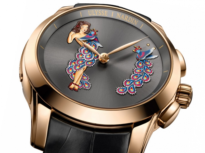 Ulysse Nardin seduce con el flamante Hourstriker Pin-Up