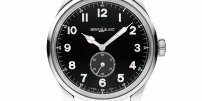 Close Up al Montblanc 1858 Small Seconds