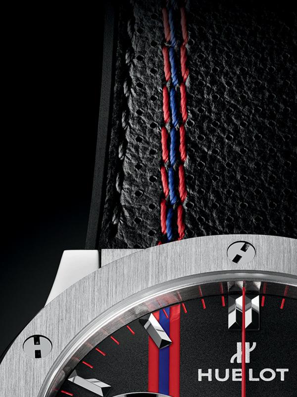 214832a08b5c Hublot presentó un reloj dedicado al Club Atlético San Lorenzo de ...
