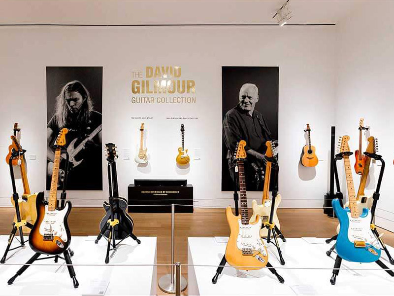 David Gilmour vendió su colección de guitarras por US$ 21.5 millones de  dólares - HMS - Horas minutos y segundos
