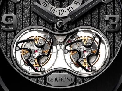 Baselworld 2019: Le Rhone Double Tourbillon Home Time Infinity Black