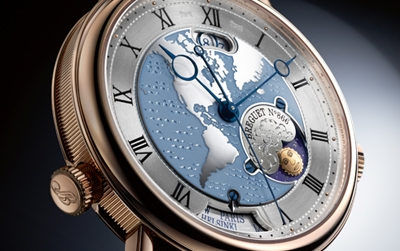 Close Up al Breguet Classique Hora Mundi