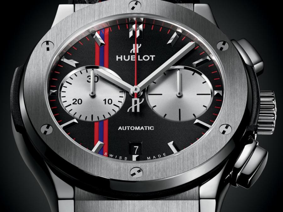 7135653f75be Hublot presentó un reloj dedicado al Club Atlético San Lorenzo de Almagro