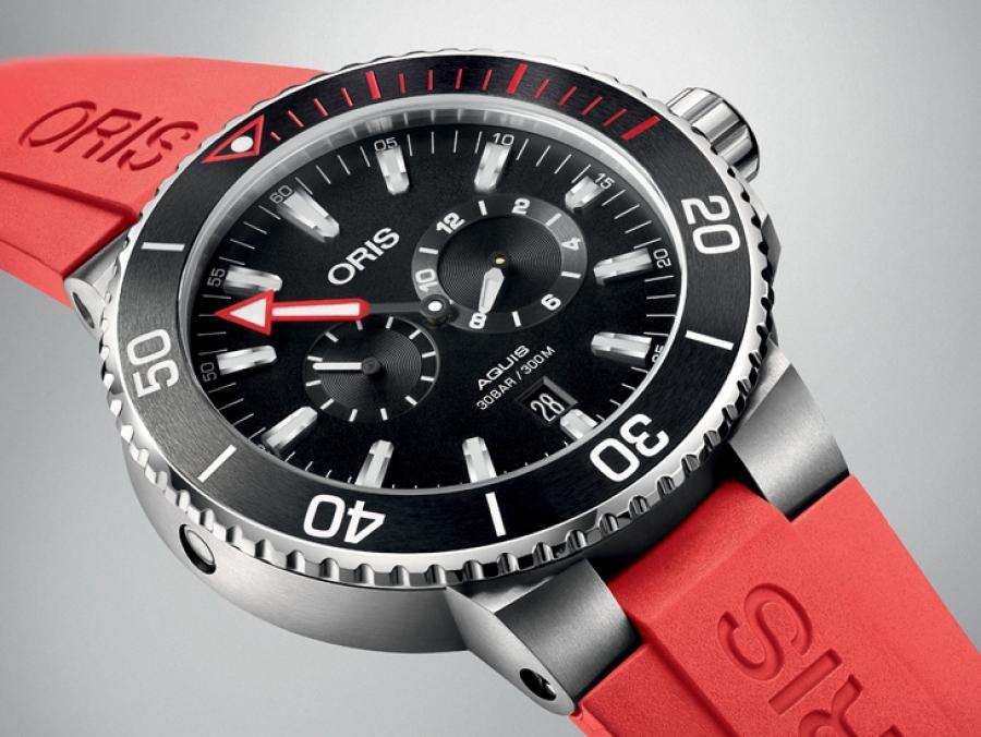 salida online modelos de gran variedad completo en especificaciones Oris rediseñó su reloj Regulateur Der Meistertaucher - HMS ...