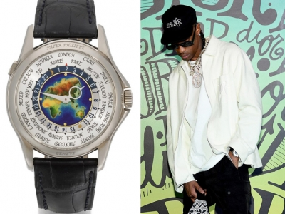El exclusivo Patek Philippe 5131G World Time de Travis Scott