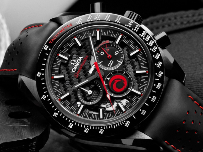 Omega lanza el nuevo Speedmaster Dark Side of the Moon Alinghi
