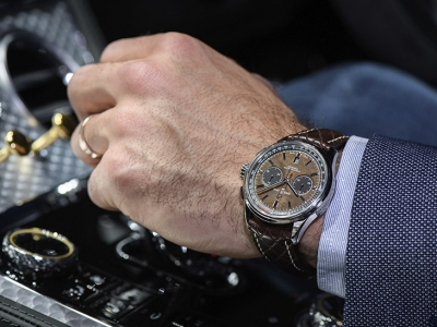 Breitling presentó el Premier Bentley Centenary Limited Edition