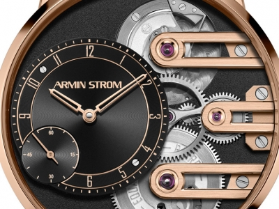 Armin Strom Gravity Equal Force ahora en oro rosa de 18 quilates