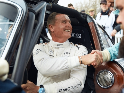 El equipo de IWC gana el trofeo Tony Gaze en Goodwood con David Coulthard
