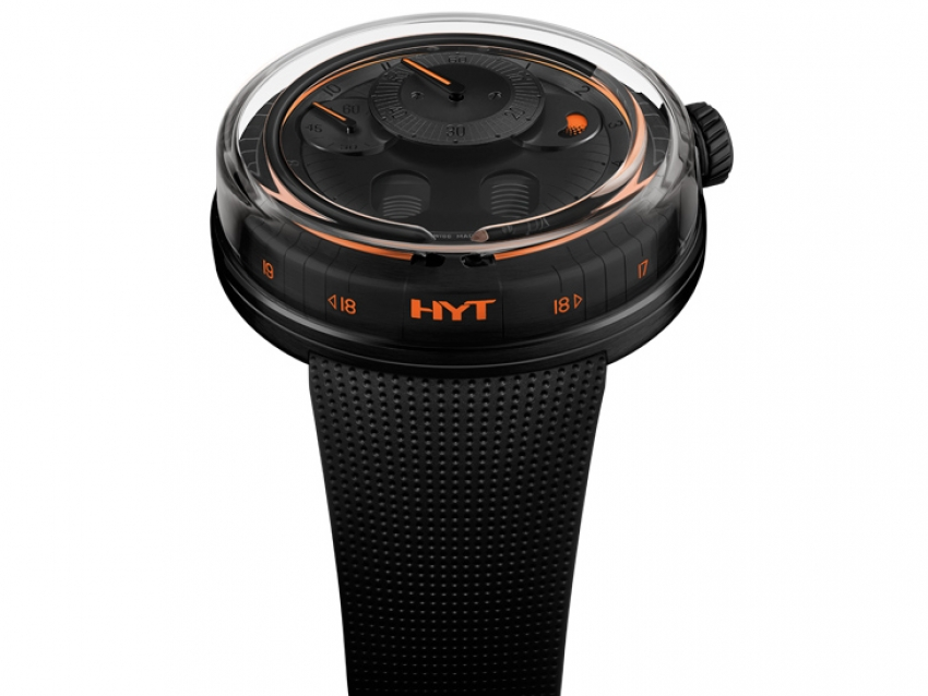 Watches & Wonders 2020: HYT H0 Black Fluid