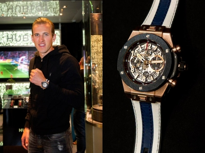 El magnífico Hublot Big Bang de Harry Kane