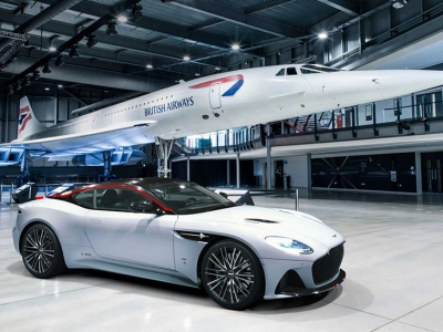 El inigualable Aston Martin DBS Superleggera Concorde Edition