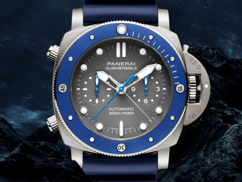 Pre-SIHH 2019: Panerai Submersible Chrono Guillaume Néry