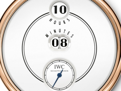 "Pre-SIHH 2018: IWC Tribute to Pallweber Edition ""150 Years"""