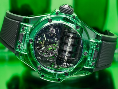 Hublot presenta el colorido Big Bang MP-11 SAXEM