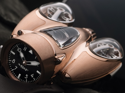 MB&F sorprende con el Horological Machine N°9 Flow