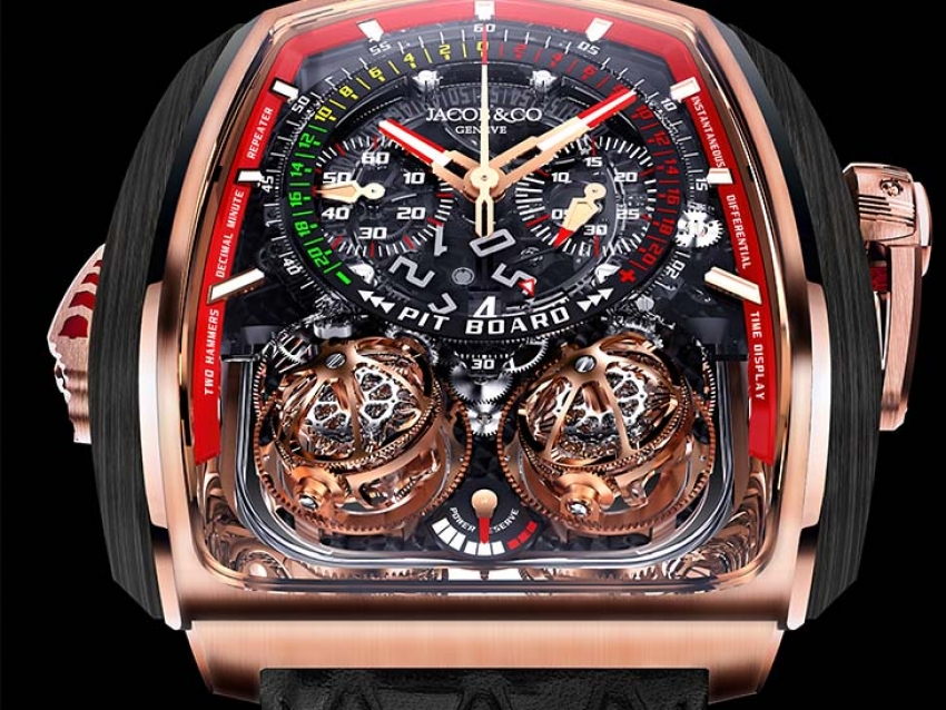 Pre-Basel 2018: El imponente Jacob & Co. Twin Turbo Furious